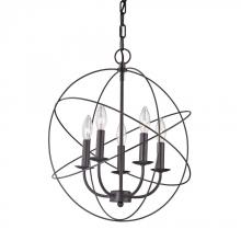 Elk Cornerstone 1515CH/10 - Williamsport 5 Light Chandelier In Oil Rubbed Br