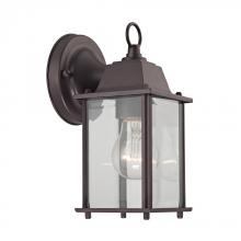 Elk Cornerstone 9231EW/75 - 1 Light Outdoor Wall Sconce In Oil Rubbed Bronze