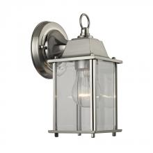 Elk Cornerstone 9231EW/80 - 1 Light Outdoor Wall Sconce In Brushed Nickel