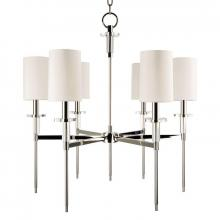 Hudson Valley 8516-PN - 6 Light Chandelier