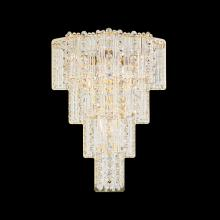 Schonbek 2673-211 - Jubilee 4 Light 110V Wall Sconce in Aurelia with Clear Gemcut Crystal