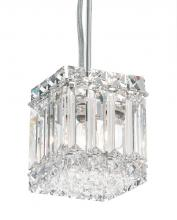 Schonbek 2245A - Quantum 2 Light 110V Pendant in Stainless Steel with Clear Spectra Crystal