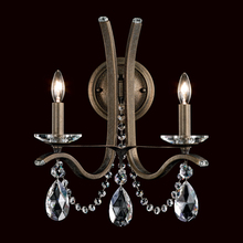 Schonbek VA8332N-26H - Vesca 2 Light 110V Wall Sconce in French Gold with Clear Heritage Crystal