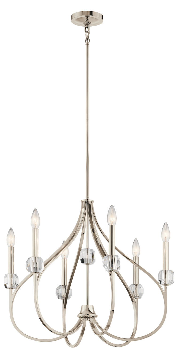 Chandelier 6Lt  sc 1 st  Gerrie Lighting Studio & Chandelier 6Lt : TPV0D | Gerrie Lighting Studio azcodes.com