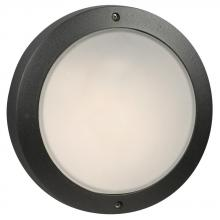 Galaxy Lighting 305063BK - Cast Aluminum Outdoor Marine Light - in Black finish w/ Frosted Glass