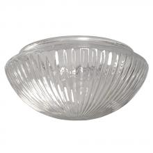 "Galaxy Lighting 810108-G - 8"" Clear Prismatic Mushroom Glass"