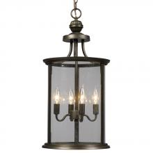 Galaxy Lighting 912300ORB - Pendant - Oil Rubbed Bronze with Clear Glass