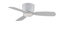 Fanimation FPS7981MW - Embrace - 44 inch - Matte White with Matte White Blades and Opal Glass