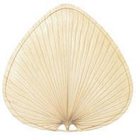 Fanimation PUP1 - Punkah Blade Set of 1 - 22 inch - Wide Oval Palm - Natural
