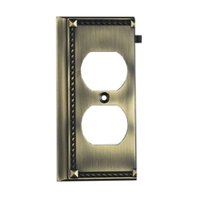 ELK Lighting 2506AB - Clickplates End Plate In Antique Brass